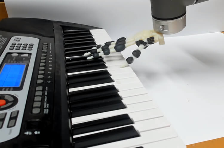 Robotic Piano Player Hand