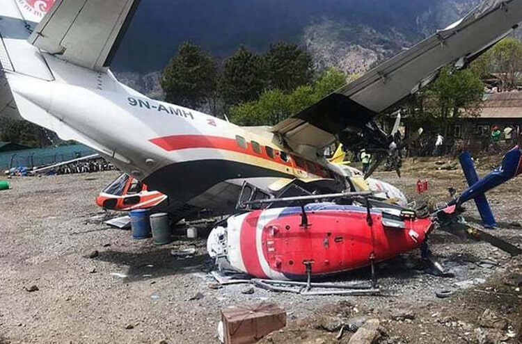 Plane Accident Near Mount everest