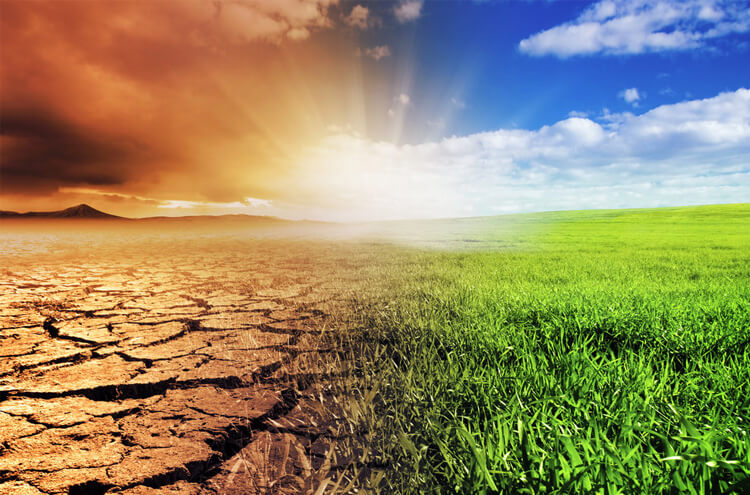 Climate change threatens human lives!
