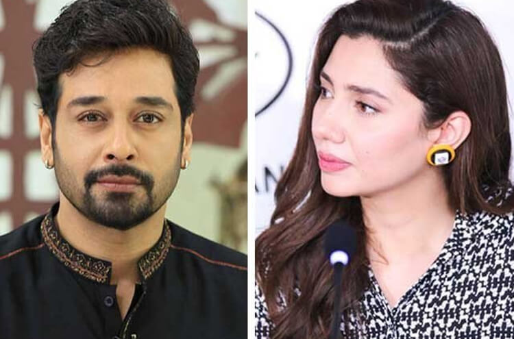 Mahira Khan with Faisal Qureshi