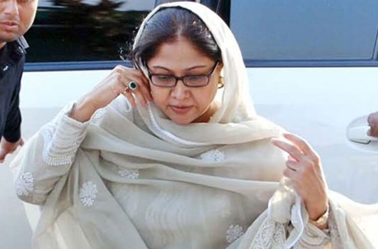 Faryal Talpur transferred to Islamabad for judicial remand!