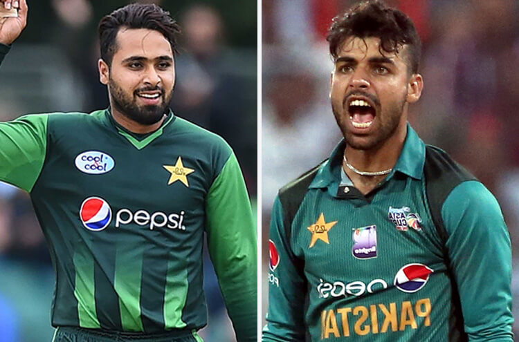 Interesting cross-talk between Shadab Khan and Fahim Ashraf as the new ICC rankings issued!