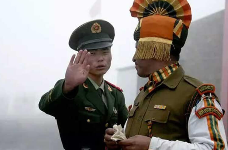 India vs China Army