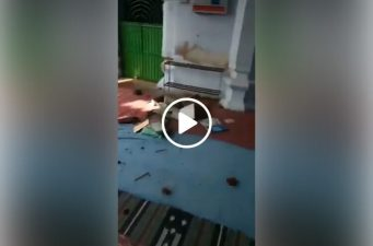 In the Indian state of Bihar, RSS goons attack mosques and dishonoring of Quran!