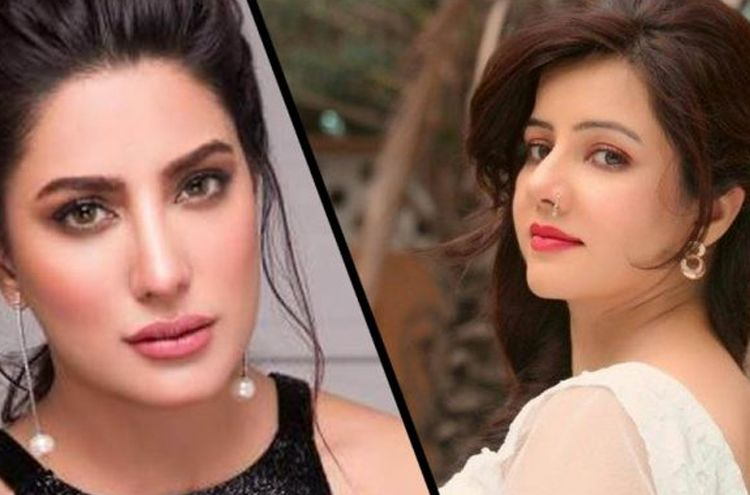 Rabi Peerzada and Mehwish Hayat