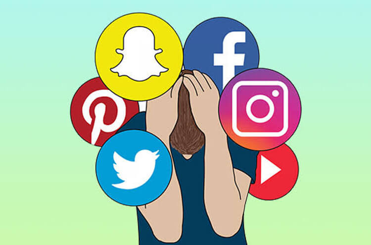 How is the use of social media adversely affecting our sleep and health?
