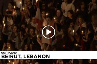Women's unique march to oust the government in Lebanon!