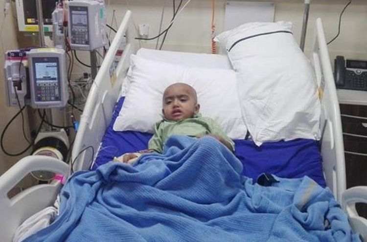 Pakistani citizen appeals for help to save the life of his three-year-old child