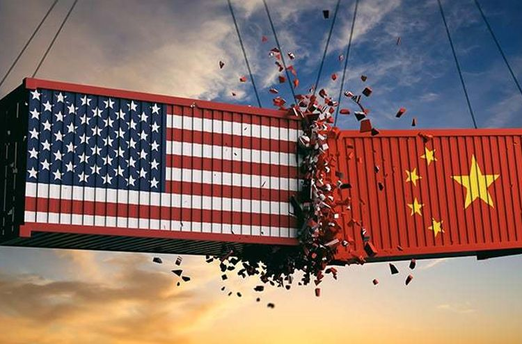 Increased intensification of trade war between US and China