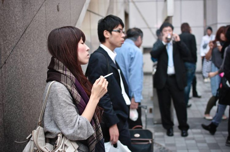 Japanese company announces special package for non-smokers
