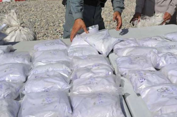 Anti-narcotics took action and recovered drugs