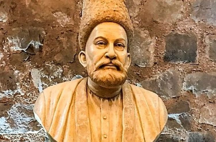 Mirza Ghalib's 151st anniversary is celebrated today