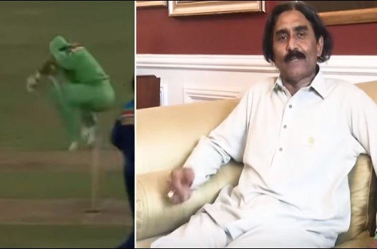 Why did Javed Miandad copy the Indian wicket-keeper at the 1992 World Cup?
