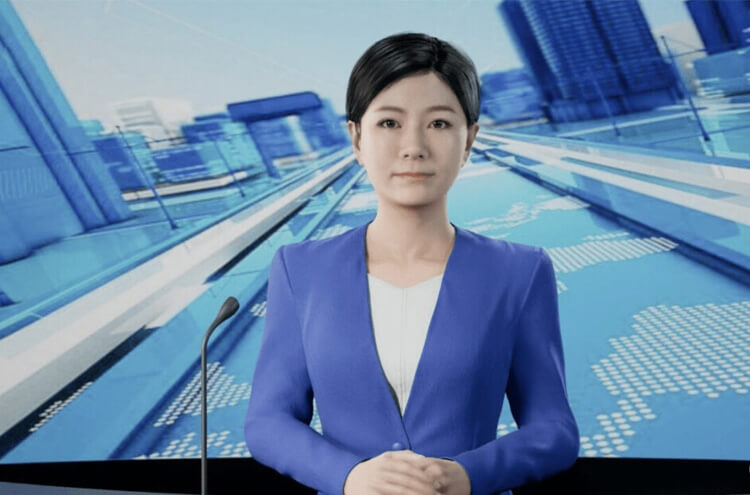 3D News Anchor