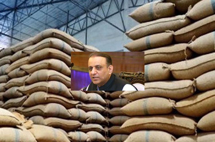 More than 90000 sacks of wheat were seized from Punjab