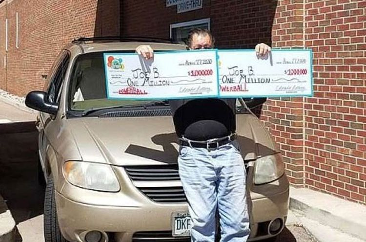 An American man won the lottery twice in one day
