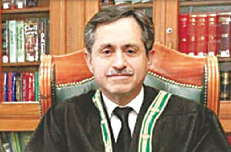 Chief Justice Balochistan High Court's corona test became positive