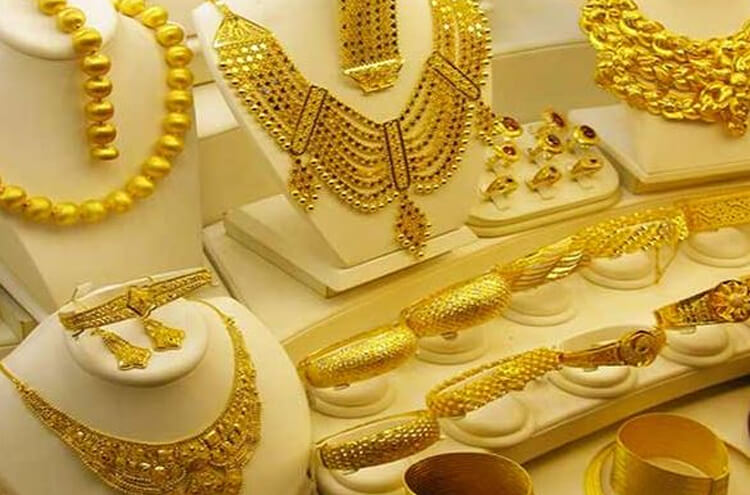 The price of gold reached the highest level in the history of the country
