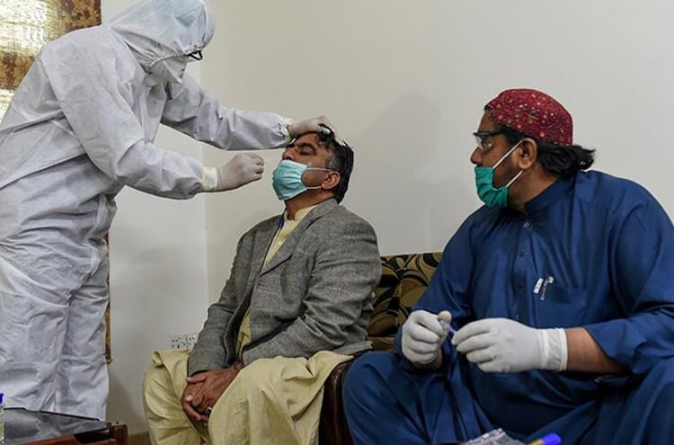 Coronavirus cases are reducing in Pakistan
