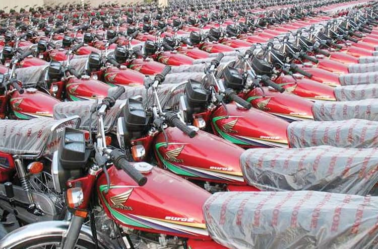 Record increase in the sale of motorcycles in a month