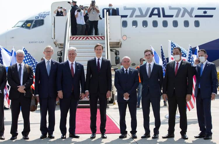 Israel's first direct flight to the UAE