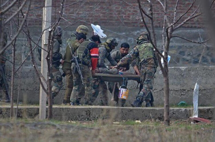 Indian Army in Occupied Kashmir